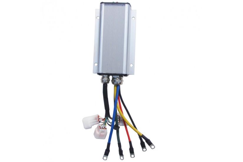 Мини бесщёточный контроллер KBS72181E, 24V-72V, 110A