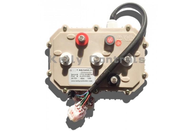 Герметичный синусный BLDC-контроллер KLS7218M, 30V-72V, 250A