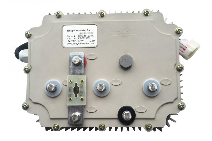 Герметичный синусный BLDC-контроллер KLS7250N, 30V-72V, 380A