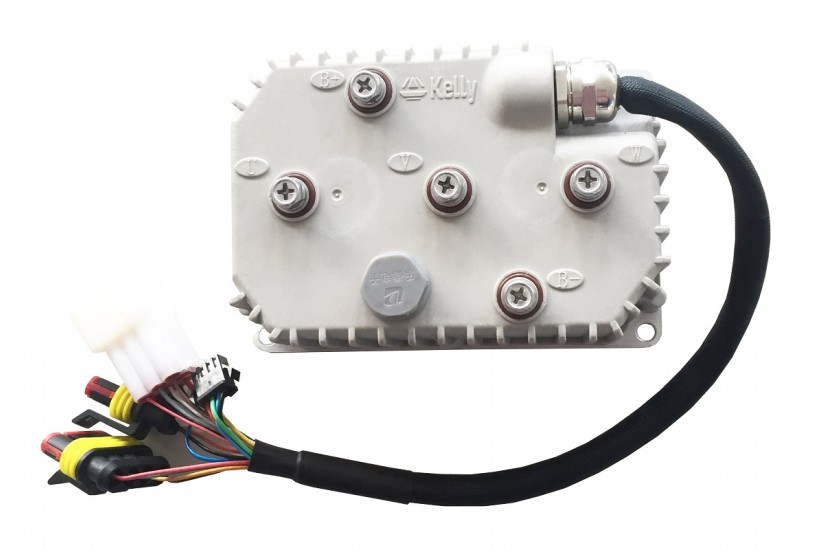 Герметичный синусный BLDC-контроллер KLS7212N, 30V-72V, 160A