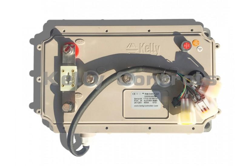 Синусный BLDC-контроллер KLS96501-8080I, 24V-96V, 500A