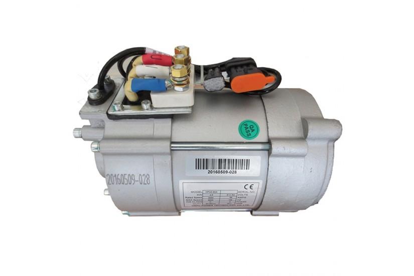 Электродвигатель HPQ10-96 AC асинхронный 96V 10KW 96В 10кВт